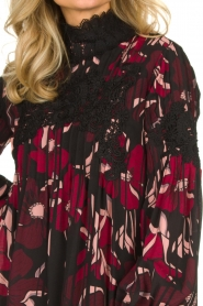 Fracomina |  Floral dress with embroideries Rowan | multi  | Picture 6