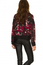 Fracomina |  Floral top with embroideries Chloe | multi  | Picture 6