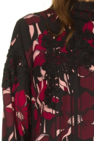Fracomina |  Floral top with embroideries Chloe | multi  | Picture 7