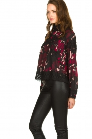 Fracomina |  Floral top with embroideries Chloe | multi  | Picture 5