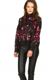 Fracomina |  Floral top with embroideries Chloe | multi  | Picture 4