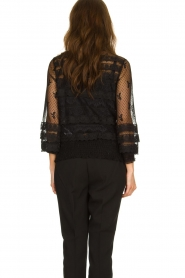 Fracomina |  Lace top Lucia | black  | Picture 5
