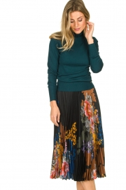 Fracomina | Turtle neck Pascal | green  | Picture 2