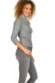 Fracomina |  Sweater Kirsty | grey  | Picture 5
