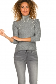 Fracomina |  Sweater Kirsty | grey  | Picture 2