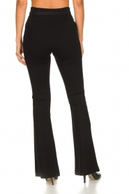 Fracomina | Flared pants Madeleine | black  | Picture 5