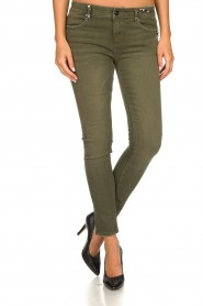 Fracomina | Pants Katy | green  | Picture 2