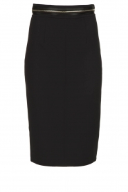 ELISABETTA FRANCHI | Pencil skirt Eliza | black  | Picture 1