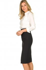 ELISABETTA FRANCHI | Pencil skirt Eliza | black  | Picture 4