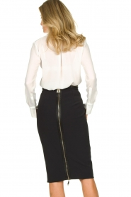 ELISABETTA FRANCHI | Pencil skirt Eliza | black  | Picture 5