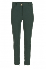 ELISABETTA FRANCHI | Stretch trousers Natalia | green  | Picture 1