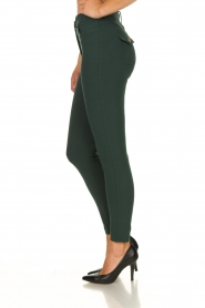 ELISABETTA FRANCHI | Stretch trousers Natalia | green  | Picture 4