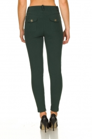 ELISABETTA FRANCHI | Stretch trousers Natalia | green  | Picture 5