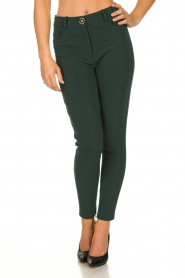ELISABETTA FRANCHI | Stretch trousers Natalia | green  | Picture 2