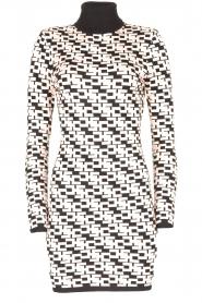 ELISABETTA FRANCHI |  Logo print dress Amber | pink  | Picture 1