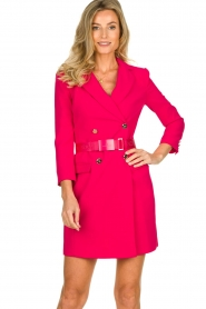 ELISABETTA FRANCHI |  Blazer dress Sonia | pink  | Picture 2