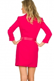 ELISABETTA FRANCHI |  Blazer dress Sonia | pink  | Picture 5