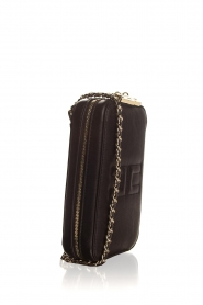 ELISABETTA FRANCHI | Faux leather shoulder bag Amanda | black  | Picture 3