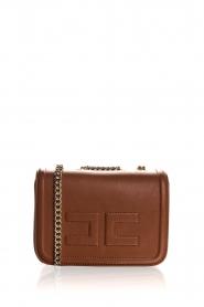 ELISABETTA FRANCHI | Faux leather handbag Riana | camel  | Picture 1