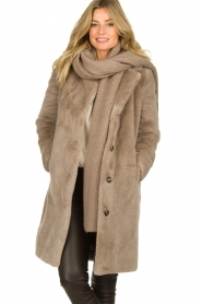 OAKWOOD |  Faux fur coat Cyber | grey  | Picture 2