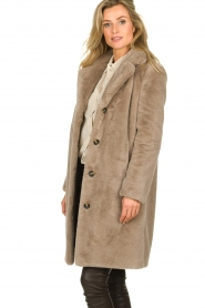 OAKWOOD |  Faux fur coat Cyber | grey  | Picture 6