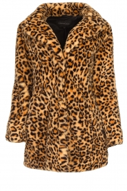 OAKWOOD |  Coat with animal print Leopard | animal  | Picture 1