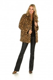 OAKWOOD |  Coat with animal print Leopard | animal  | Picture 3