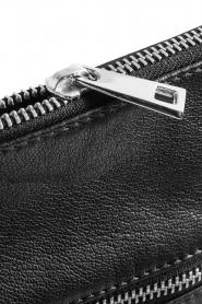 Depeche | Leather shoulder bag Tamara | black  | Picture 5