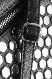 Depeche | Leather shoulder bag Tamara | black  | Picture 6
