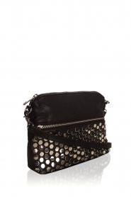 Depeche | Leather shoulder bag Tamara | black  | Picture 3