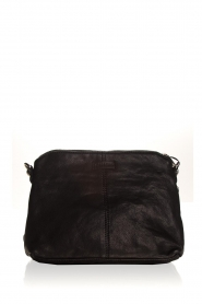 Depeche | Leather shoulder bag Tamara | black  | Picture 4