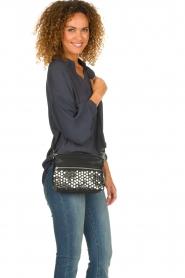Depeche | Leather shoulder bag Tamara | black  | Picture 2