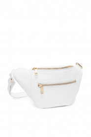Depeche |  Leather fanny pack Lie | white  | Picture 3