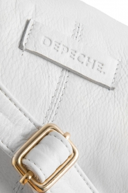 Depeche |  Leather fanny pack Lie | white  | Picture 6