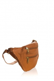 Depeche |  Leather fanny pack Lie | camel  | Picture 3