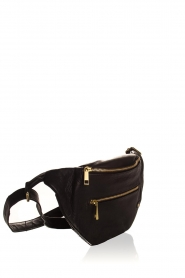 Depeche |  Leather fanny pack Lie | black  | Picture 3