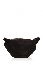 Depeche |  Leather fanny pack Lie | black  | Picture 4