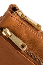 Depeche | Leather shoulder bag | cognac  | Picture 4