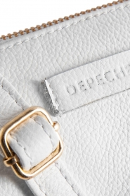 Depeche | Leather shoulder bag Karin | white  | Picture 6