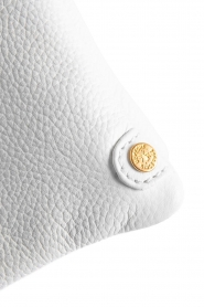 Depeche | Leather shoulder bag Karin | white  | Picture 5