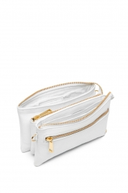 Depeche | Leather shoulder bag Karin | white  | Picture 3