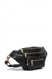 Depeche |  Leather fanny pack Nicol | black  | Picture 4