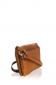 Depeche |  Leather shoulder bag Belina | camel  | Picture 4