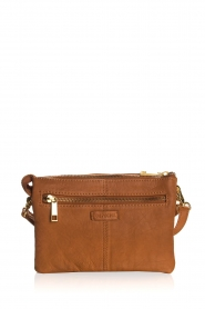 Depeche |  Leather shoulder bag Belina | camel  | Picture 5