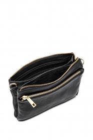 Depeche | Leather shoulder bag Belinda | black  | Picture 3