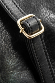 Depeche | Leather shoulder bag Belinda | black  | Picture 6