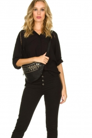 Depeche | Leather fanny pack Rosanna | black  | Picture 2