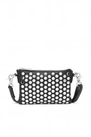 Depeche   Leather shoulder bag Amanda   black    Picture 1
