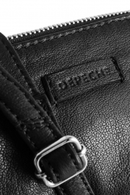 Depeche | Leather shoulder bag Amanda | black  | Picture 7