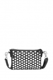 Depeche | Leather shoulder bag Amanda | black  | Picture 1